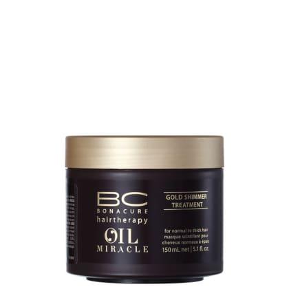 a8d45bb95d231 -23% Schwarzkopf Professional BC Bonacure Oil Miracle Gold Shimmer - Máscara  Capilar 150ml