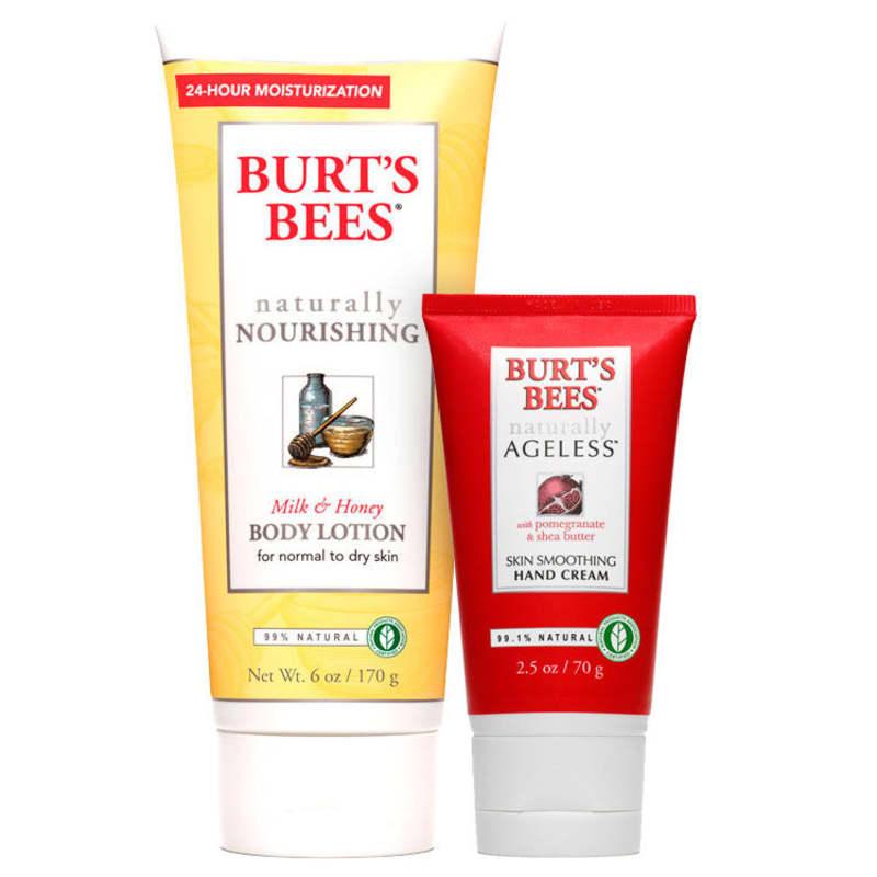Kit Burt's Bees Milk & Honey Ageless Skin (2 produtos)
