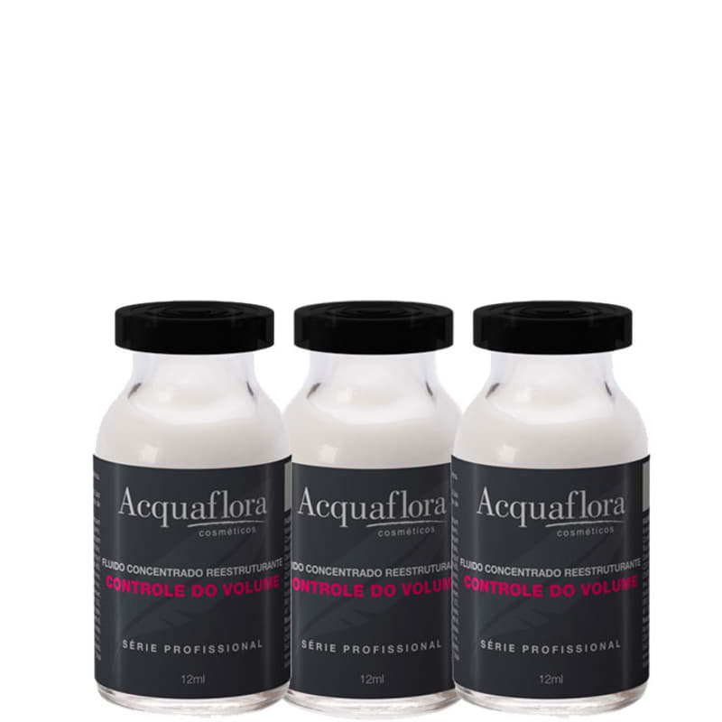 Acquaflora Controle do Volume - Ampola Capilar 3x14ml