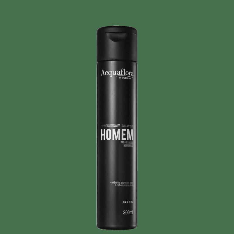 Acquaflora Homem Cabelos Normais - Shampoo sem Sal 300ml