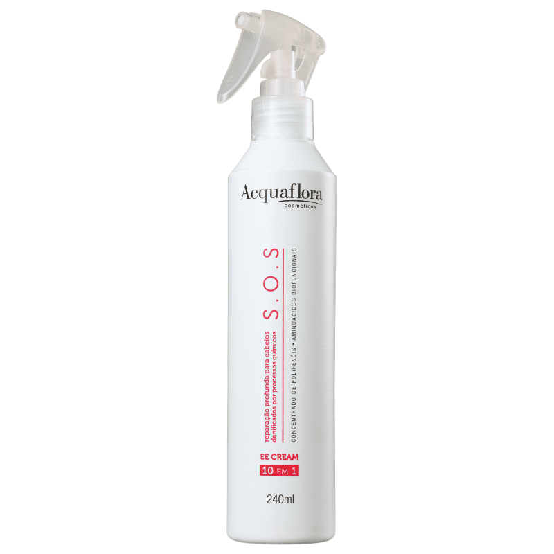 Acquaflora SOS Reparação Profunda EE Cream 10 em 1 - Tratamento Capilar 240ml