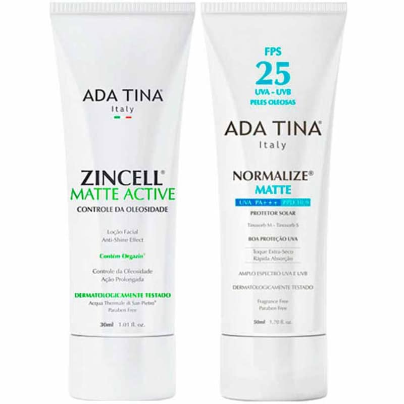 Ada Tina Normalize Zincell Kit (2 Produtos)