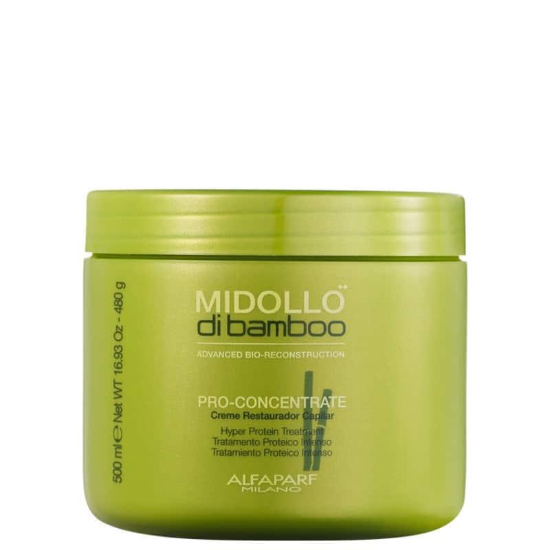 Alfaparf Midollo di Bamboo Pro-Concentrate - Máscara de Reconstrução 500ml