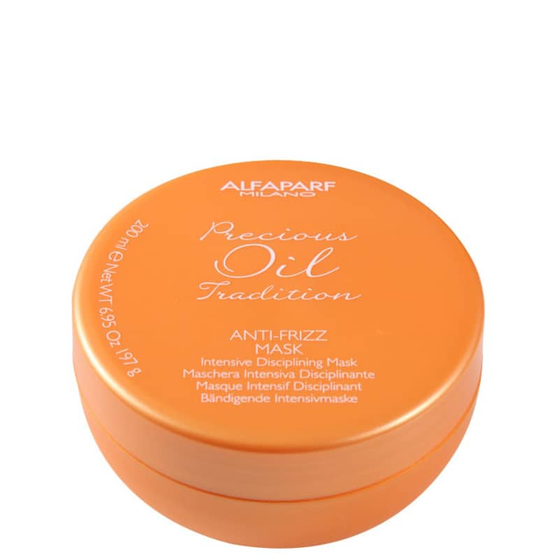 Alfaparf Precious Oil Tradition Anti-Frizz Mask - Máscara de Tratamento 200ml