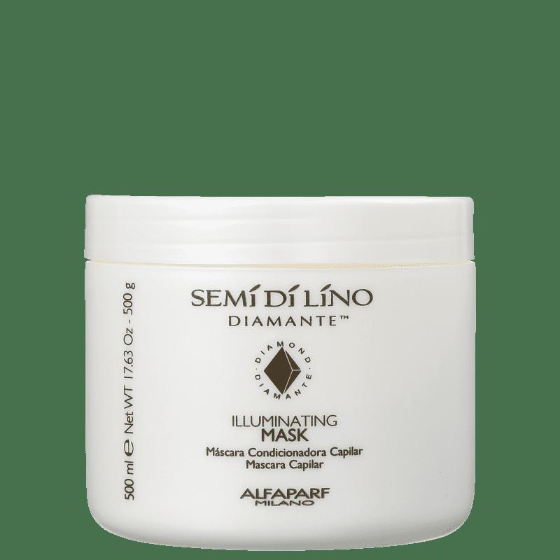 Alfaparf Semi di Lino Diamante Illuminating Mask - Máscara Capilar 500g
