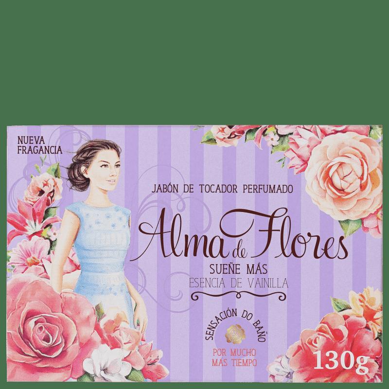 Alma de Flores Baunilha - Sabonete em Barra 130g