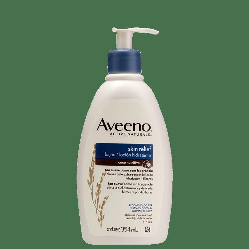 Aveeno Skin Relief Coco - Loção Hidratante Corporal 354ml
