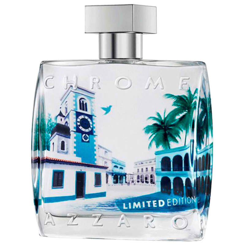 Perfume Chrome Limited Edition Azzaro Eau de Toilette Masculino 100 Ml