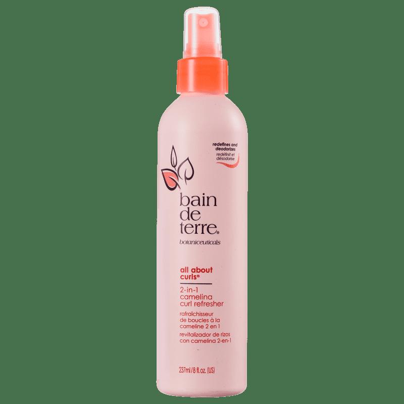 Bain de Terre All About Curls 2-In-1 Camelina Curl Refresher - Finalizador Spray 237ml