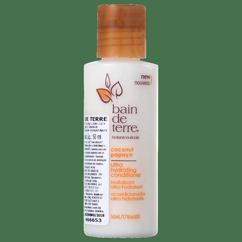 Bain De Terre Coconut Papaya Ultra Hydrating Conditioner - Condicionador 50ml