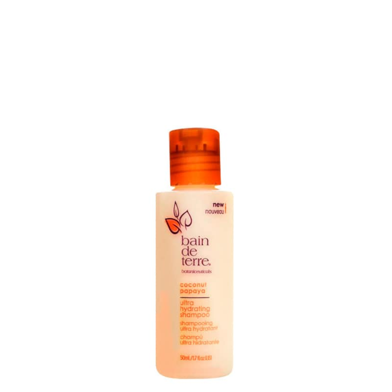 Bain De Terre Coconut Papaya Ultra Hydrating - Shampoo 50ml