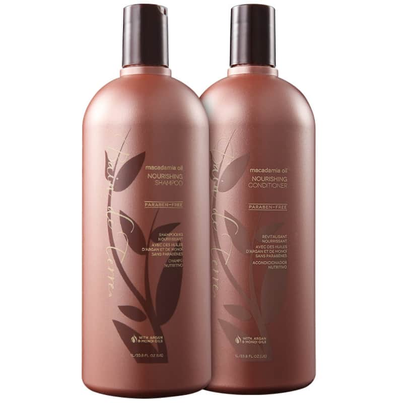 Bain de Terre Macadamia Oil Nourishing Salon Kit (2 Produtos)