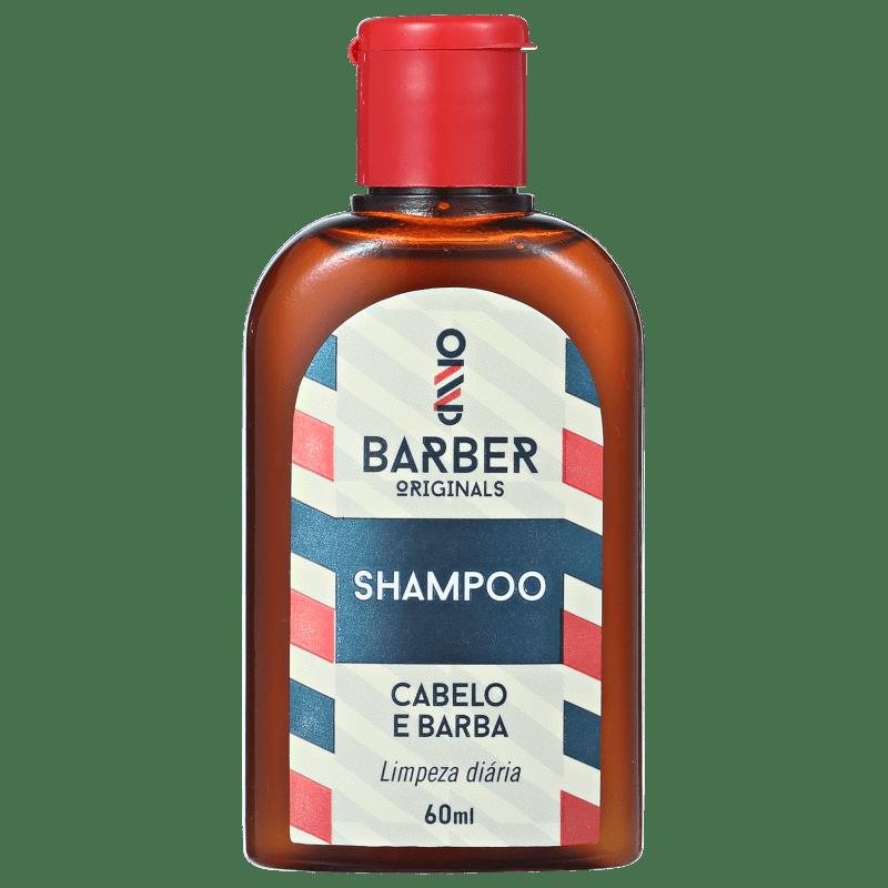 Barber Originals Cabelo e Barba - Shampoo 60ml