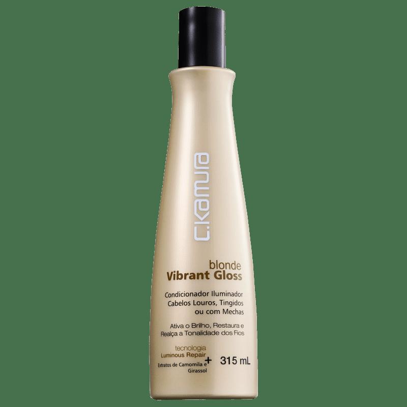 C.Kamura Blonde Vibrant Gloss - Condicionador 315ml