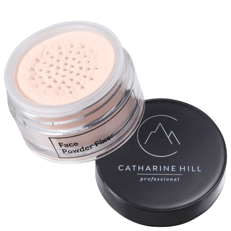 Catharine Hill Face Powder Fixer Rosado - Pó Solto Natural 20g