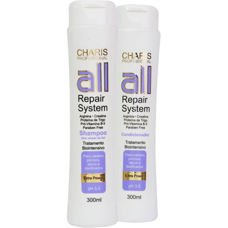 Kit Charis All Repair System Duo (2 Produtos)
