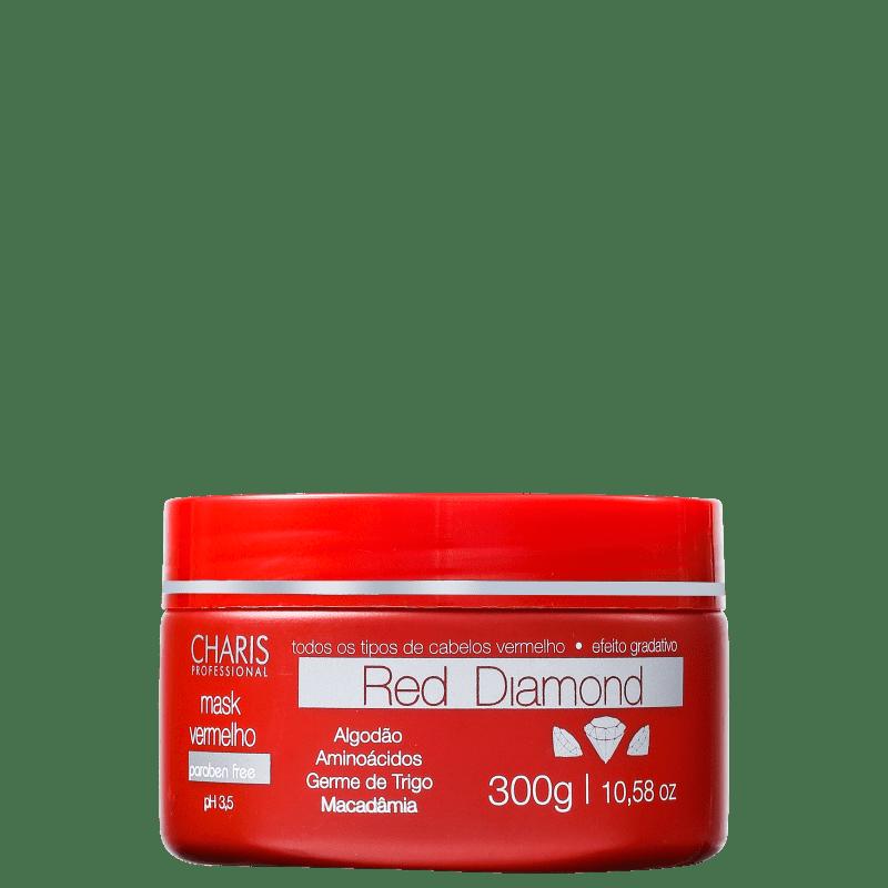 Charis Red Diamond - Máscara Capilar 300g