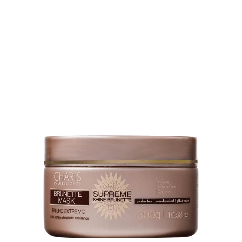 Charis Brunette Supreme Shine Mask - Máscara Capilar 300g