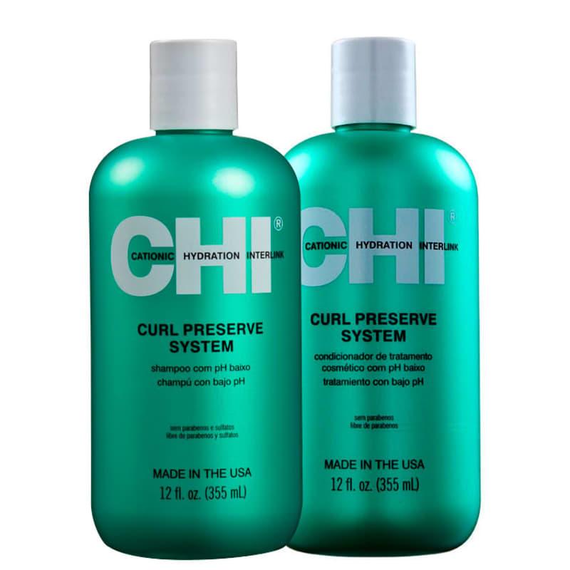 Kit CHI Curl Preserve System Duo (2 Produtos)