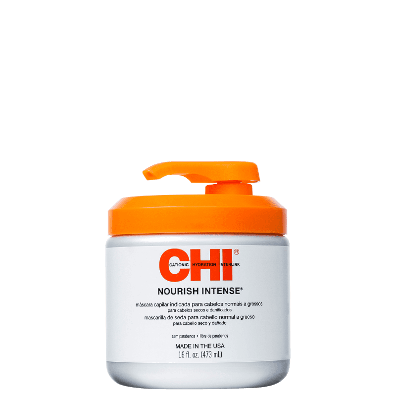 CHI Nourish Intense Normal to Coarse Hair - Máscara de Nutrição 473ml