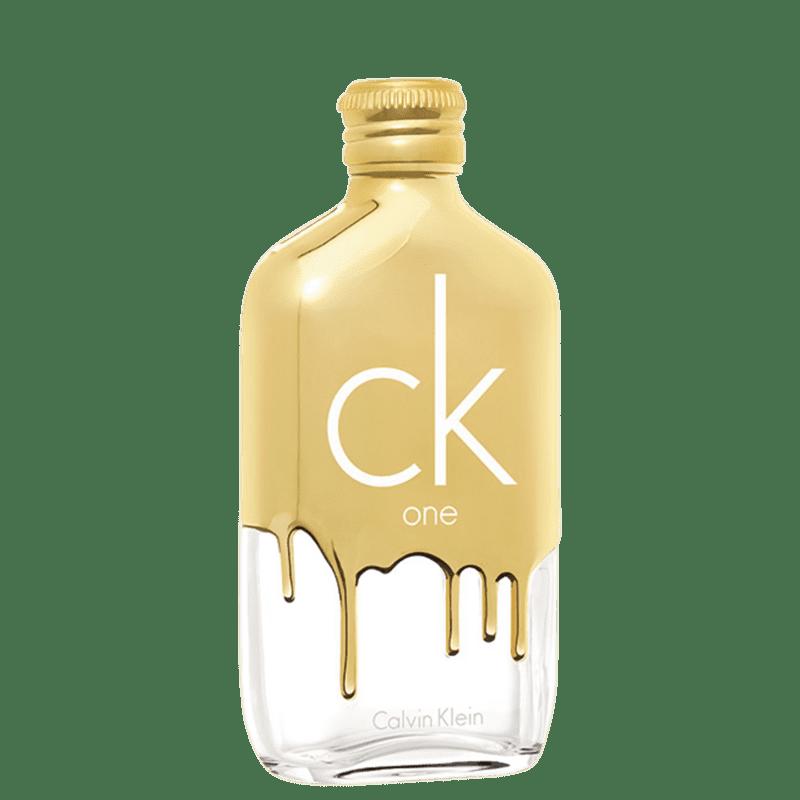 CK One Gold Calvin Klein Eau de Toilette - Perfume Unissex 50ml