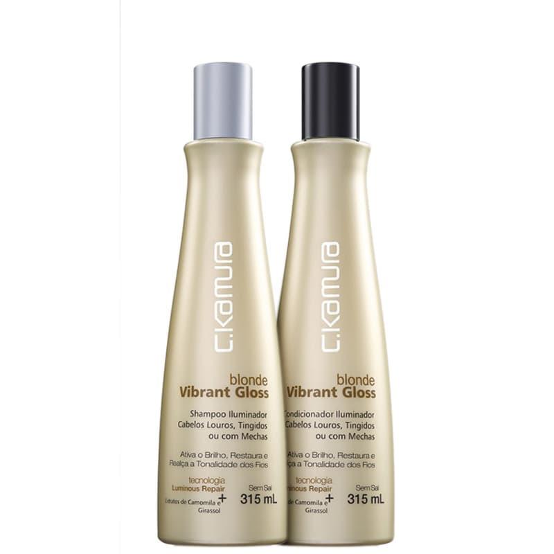 Kit C.Kamura Blonde Vibrant Gloss Duo (2 Produtos)