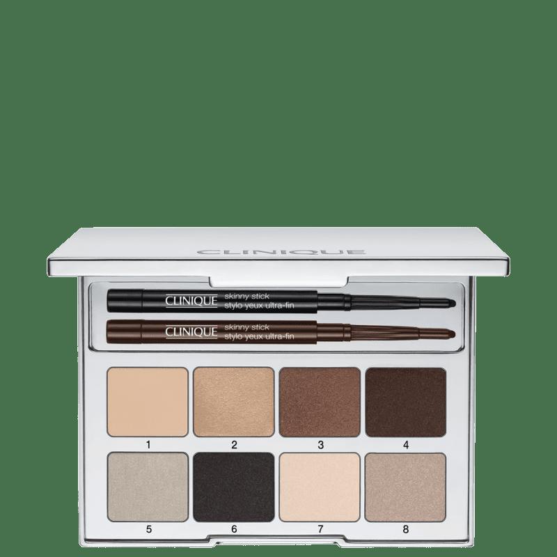 Clinique Pretty Easy Eye Palette - Paleta de Sombras