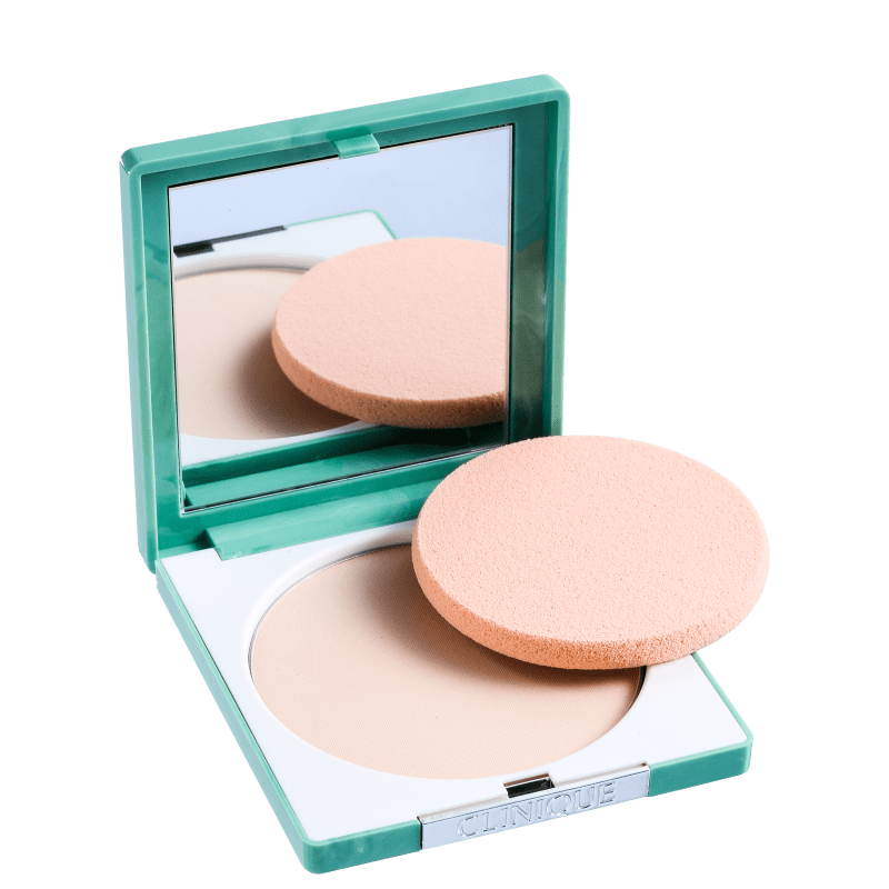 Clinique Stay Matte Sheer Pressed Powder Invisible Matte - Pó Compacto Matte 7,6g