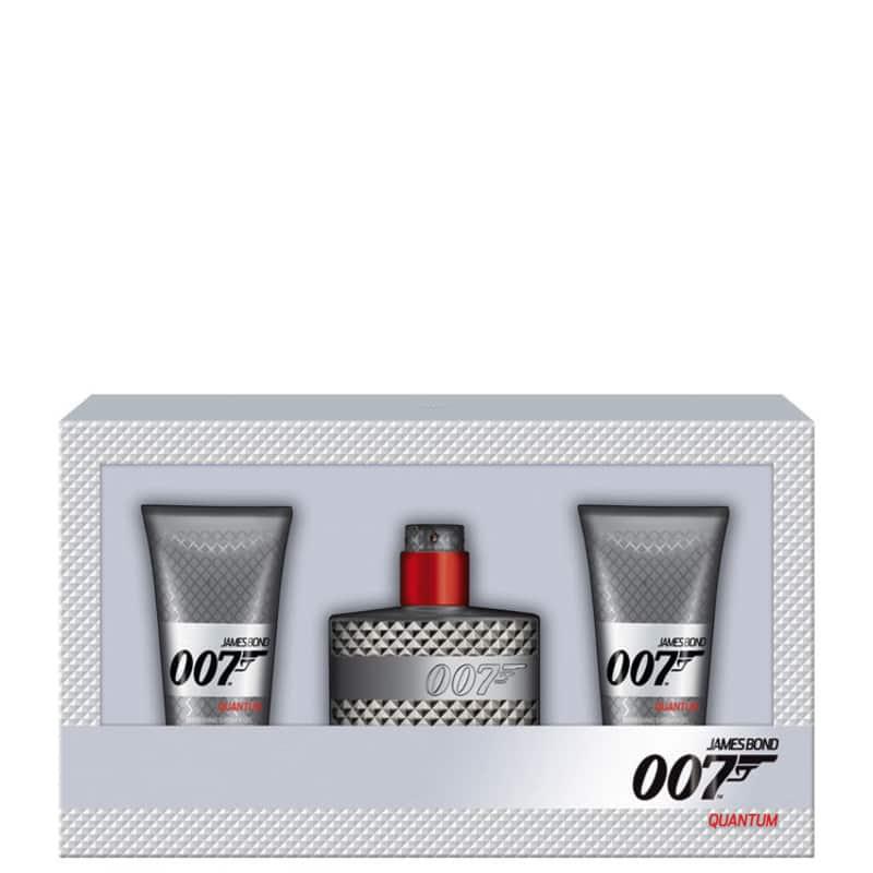 Conjunto 007 Quantum James Bond Masculino - Eau de Toilette 50ml + Gel de Banho 2 x 50ml