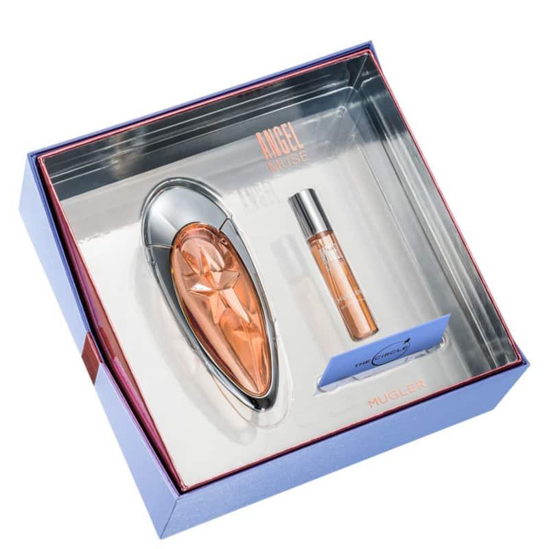 Conjunto Angel Muse Basic Set Thierry Mugler Feminino - Eau de Parfum 50ml + Travel Size 9ml