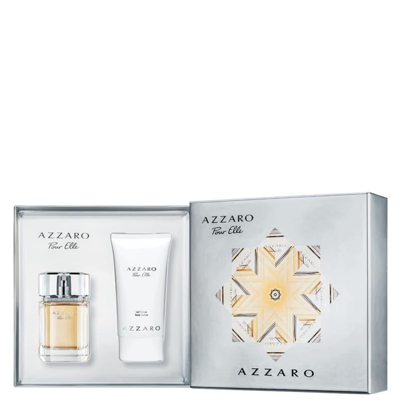 Conjunto Azzaro Pour Elle Feminino - Eau de Parfum 75ml + Loção Corporal 100ml