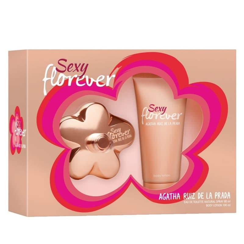 Conjunto Sexy Florever Agatha Ruiz de La Prada Feminino - Eau de Toilette 80 ml + Loção Corporal 100ml