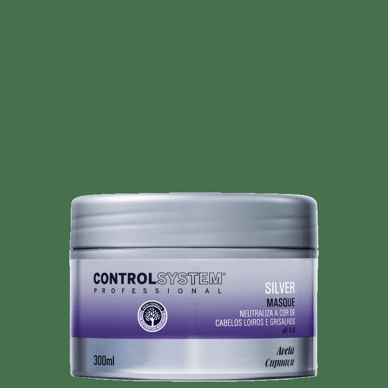 Control System Silver - Máscara Capilar 300ml