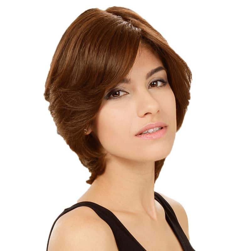 Crown Wigs Amanda Castanho Claro - Peruca 25cm