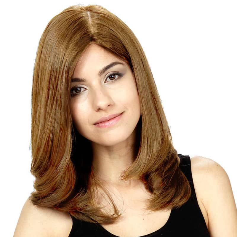 Crown Wigs Diana Louro Claro/Escuro - Peruca 45cm