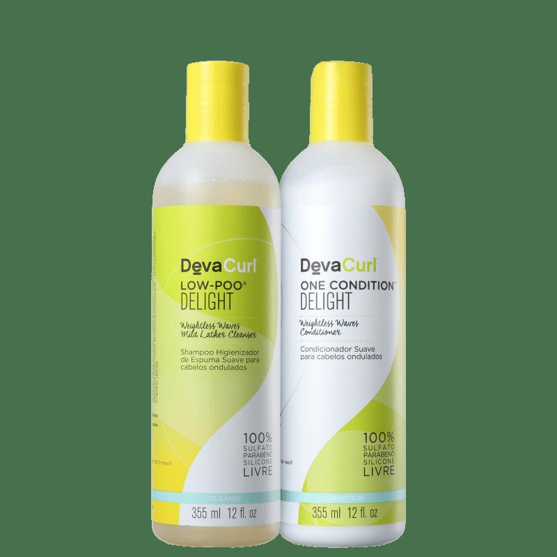 Kit Deva Curl Delight Medium (2 Produtos)