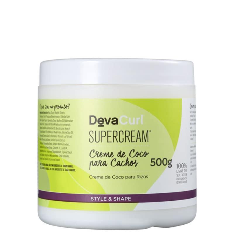 Deva Curl Supercream - Ativador de Cachos 500g