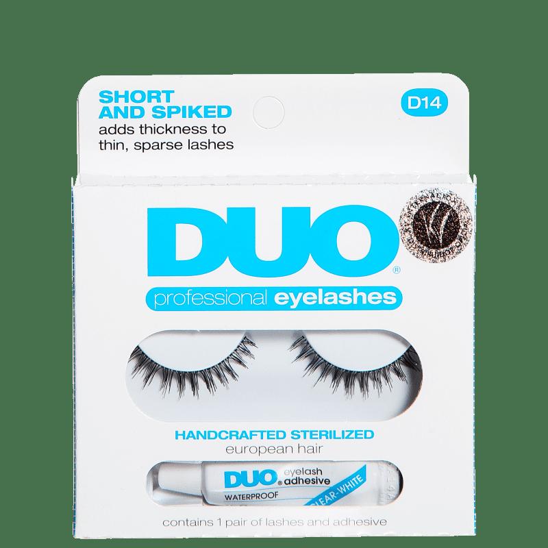 DUO Short and Spiked - Cílios Postiços com Cola 2,5g