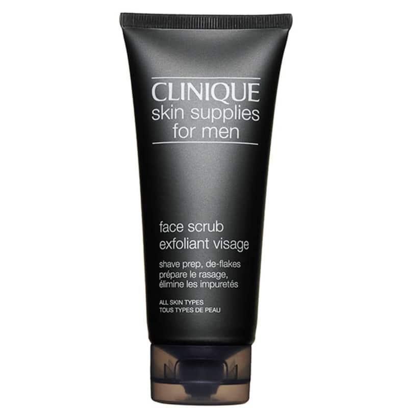 Clinique For Men Skin Supplies Face Scrub Exfoliant Visage - Sabonete Esfoliante Facial 100ml