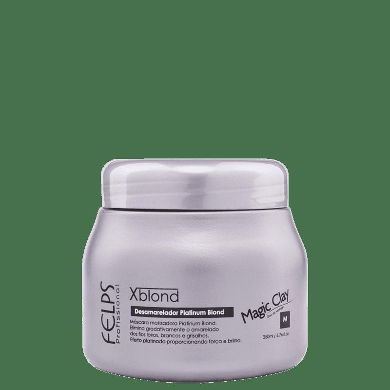 Felps Profissional XBlond Magic Clay - Máscara de Tratamento 250ml
