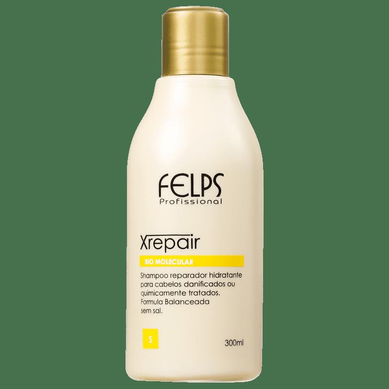 Felps Profissional XRepair Bio Molecular - Shampoo sem Sal 300ml