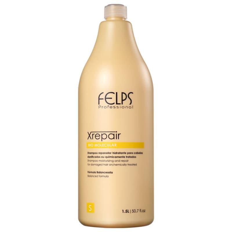 Felps Profissional XRepair Bio Molecular - Shampoo sem Sal 1500ml