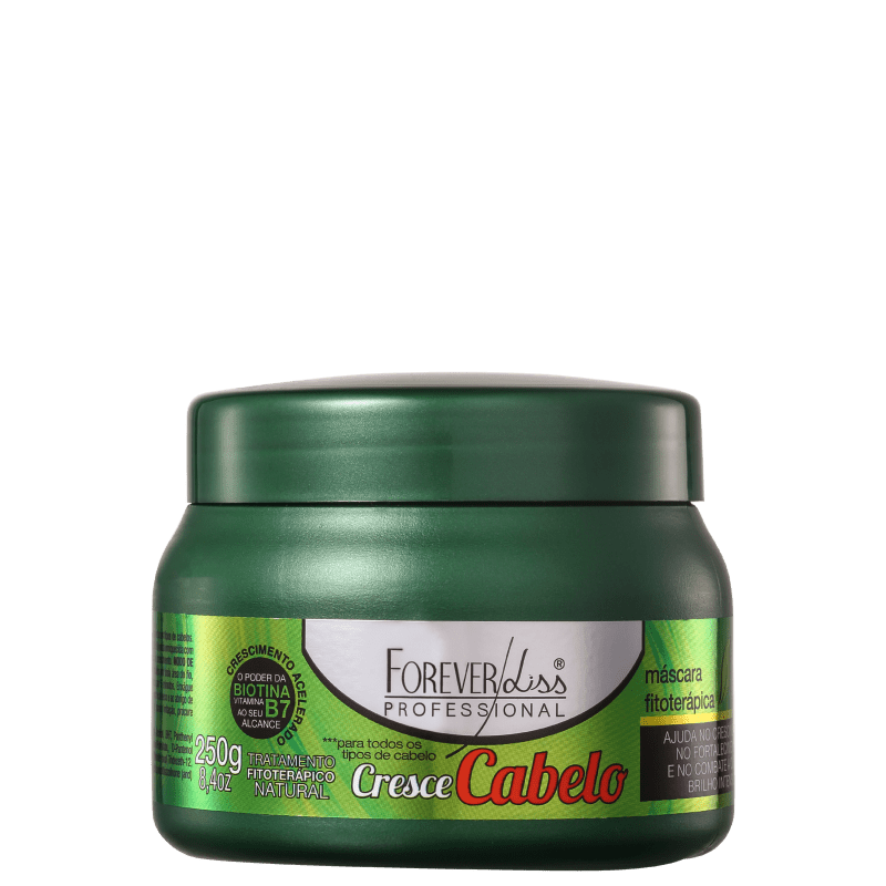 Forever Liss Professional Cresce Cabelo - Máscara Capilar 250g