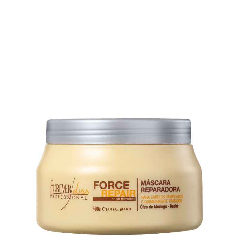 Forever Liss Professional Force Repair - Máscara Capilar 500g