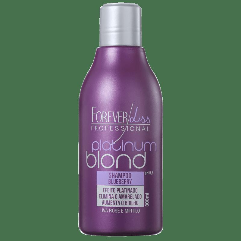 Forever Liss Professional Platinum Blond - Shampoo Matizador 300ml