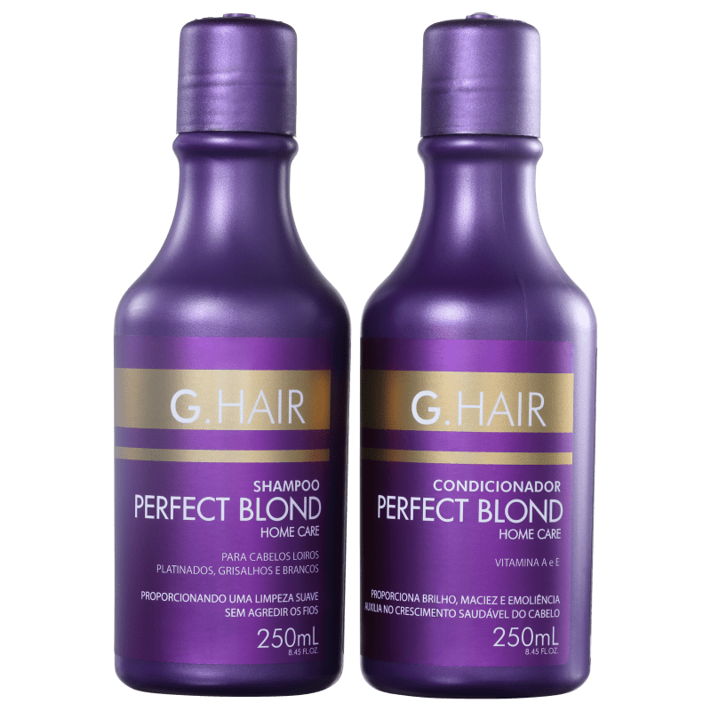 Kit G.Hair Perfect Blond Duo Home Care (2 Produtos)