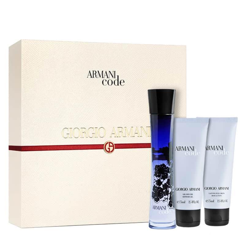 Estojo Armani Code Giorgio Armani Eau de Parfum Feminino 75 Ml