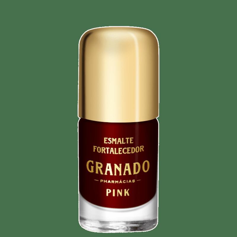 Granado Pink Fortalecedor Aretha - Esmalte Cremoso 10ml
