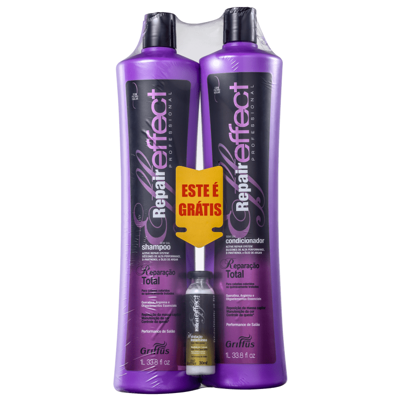 Griffus Repair Effect Kit (3 Produtos)