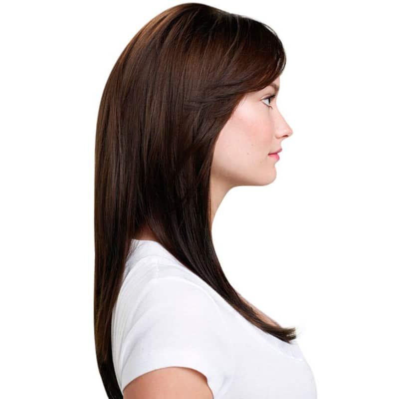 Hairdo Chocolate - Aplique Liso em Camadas 63cm